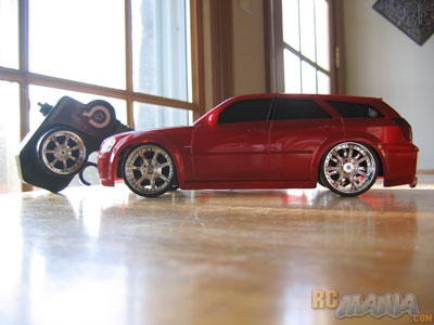 The Body Is Very Detailed And Modeled After A Dodge Magnum It Made Of Strong Lightweight Plastic Well Prepared To Take Ps