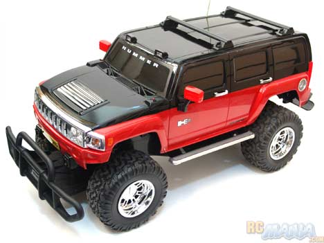 New Bright Hummer H3 1 6th Scale Reviewed