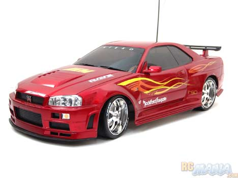 Nikko Nissan Skyline Drifter Reviewed Rc Mania